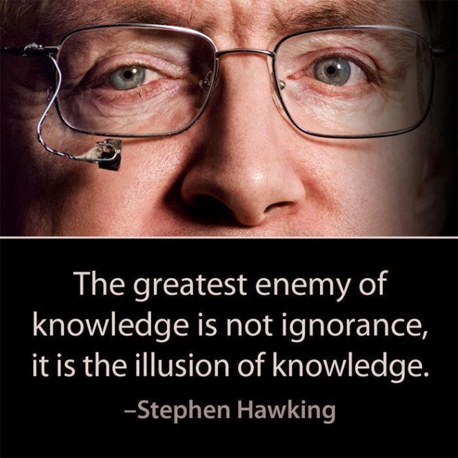 Enemy of Knowledge - Hawking