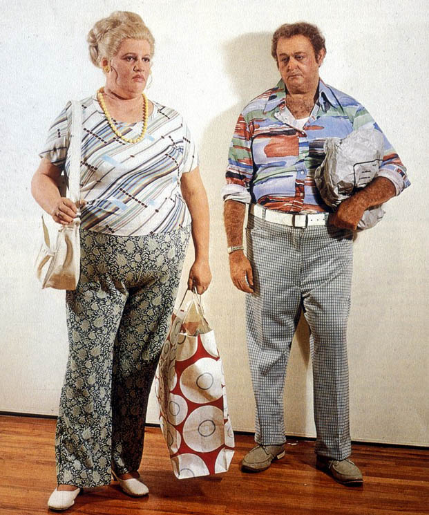 Duane Hanson: Couple with shopping bag