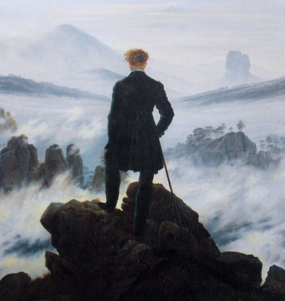 Caspar David Friedrich - not the Last Man