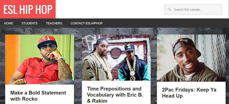 EFL ESL hip hop