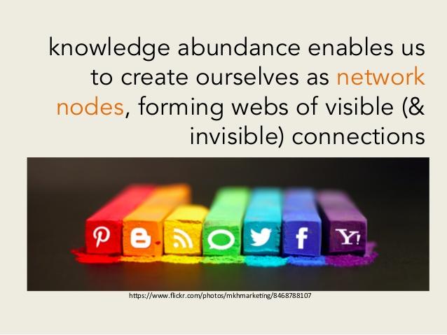 Knowledge abundance - pedagogy of abundance